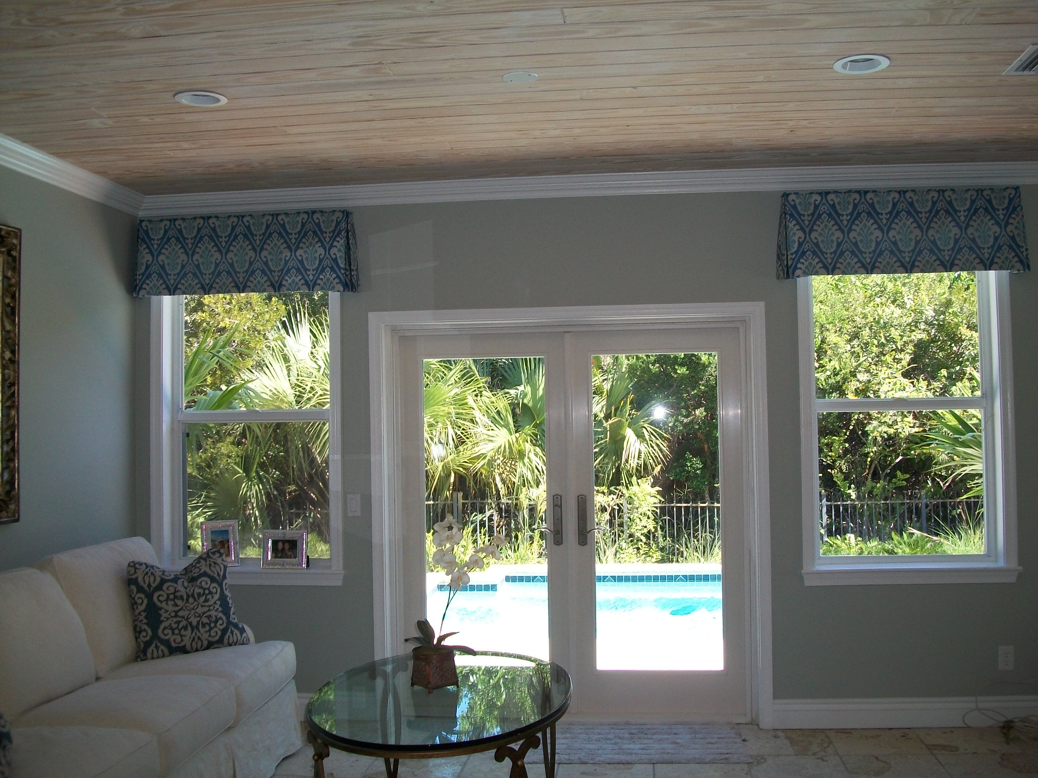 over and pleat a portfolio box with tailored bettie window transom custom jo button windows back s design accents valance valances fold